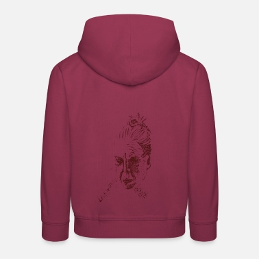 Momie mom mom - Sweat à capuche premium Enfant
