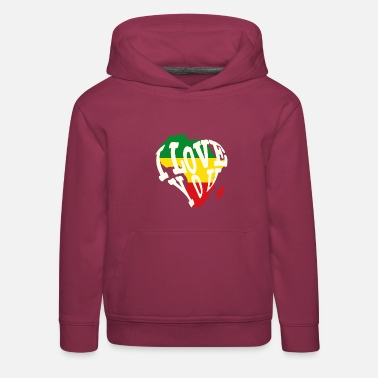 Continent Africa, continent - Kids' Premium Hoodie