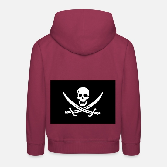 Birthday Hoodies & Sweatshirts - Jolly Roger! - Kids' Premium Hoodie bordeaux