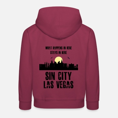 Las Vegas - Sin City - Sweat à capuche premium Enfant