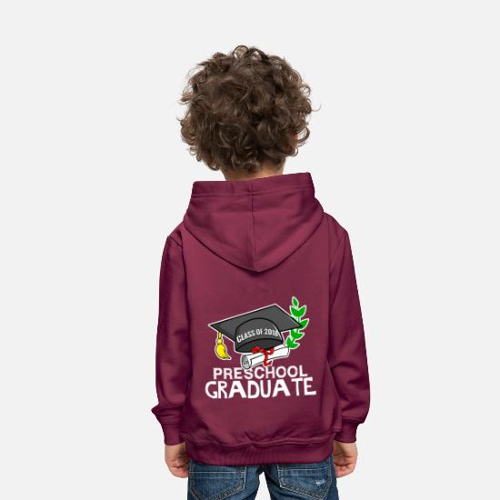 Graduation Hoodies & Sweatshirts - Preschool Graduate - class of 2018 - Kids' Premium Hoodie bordeaux