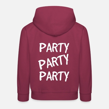 Party Party Party - Kids' Premium Hoodie