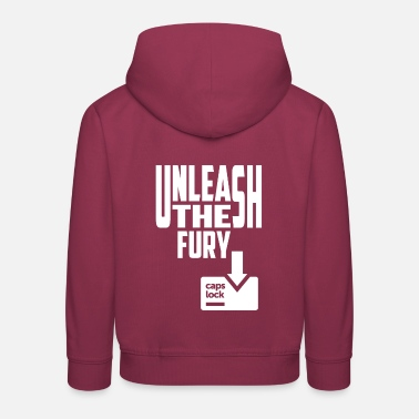 Fury Unleash The Fury - Kids' Premium Hoodie