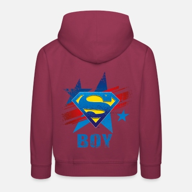 Daily Planet Superman S-Shield Boy Kinder T-Shirt - Kinder Premium Hoodie
