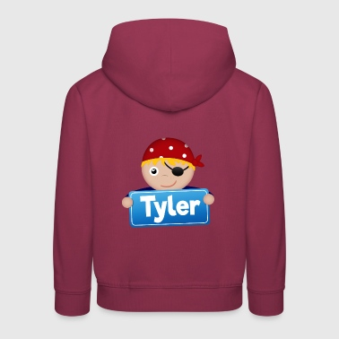 Little pirate Tyler - Pull à capuche Premium Enfant