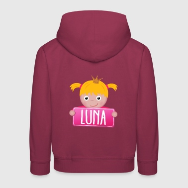 Little Princess Luna - Kids' Premium Hoodie