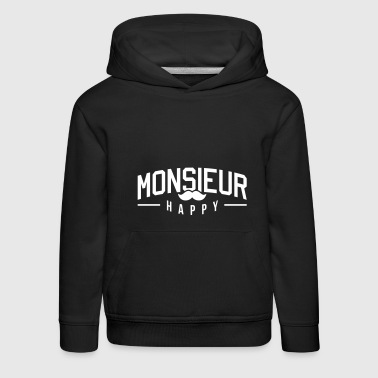 Monsieur-Happy - Pull à capuche Premium Enfant