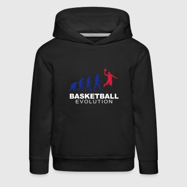 Basketball evolution - Kinder Premium Hoodie