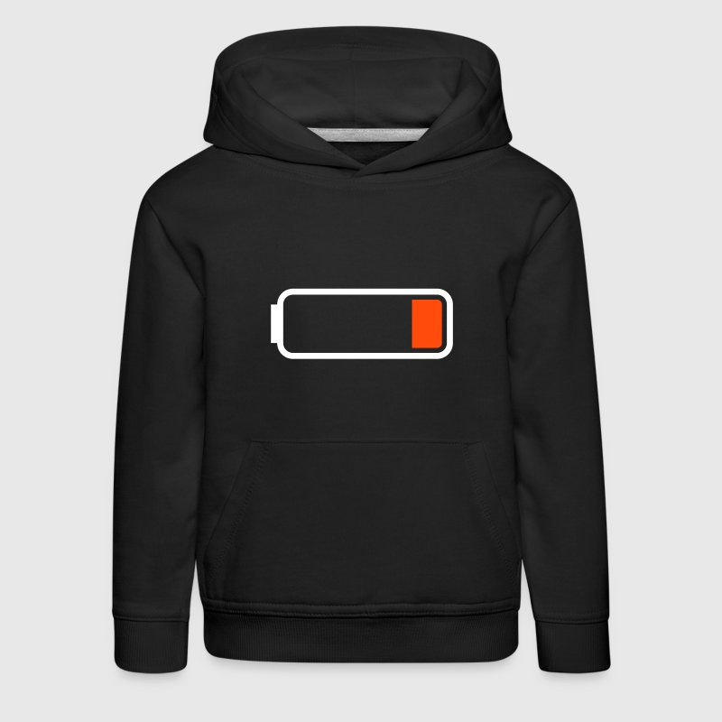 Battery low - Kids' Premium Hoodie