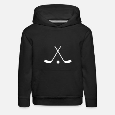 Urheilu hockey sticks / hockey symbol - Lasten premium huppari