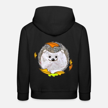 Hedgehog plush hedgehog - Kids' Premium Hoodie