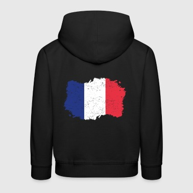 Roots roots flag homeland country France png - Kids' Premium Hoodie