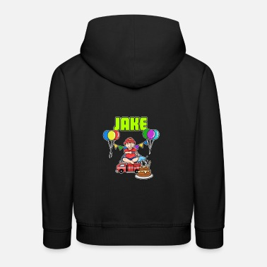 Jake Fire Department Jake Gift - Kids' Premium Hoodie