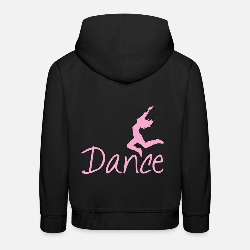 Danse Sweat-shirts - danse - Sweat à capuche premium Enfant noir