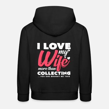 Collections Collecting - Kids' Premium Hoodie