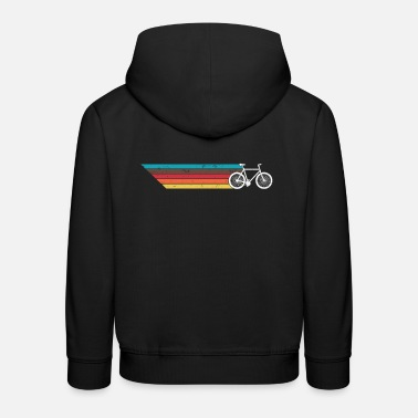 Sports Mountain bike retro gift - Kids' Premium Hoodie