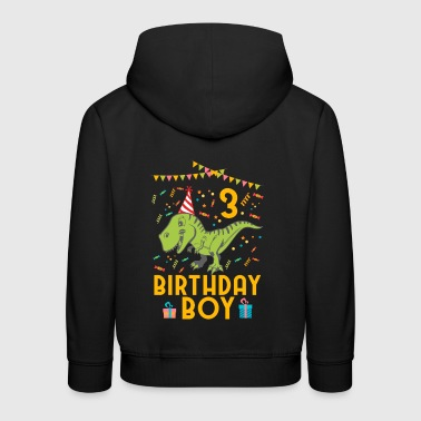 Birthday Boy - 3rd birthday - Kids' Premium Hoodie