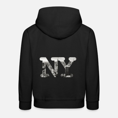 New York New York City Panorama - Lasten premium huppari