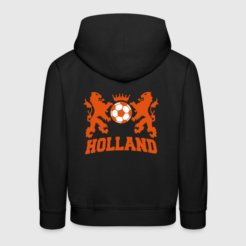 holland / nederlands elftal / the netherlands - Kinderen trui Premium met capuchon