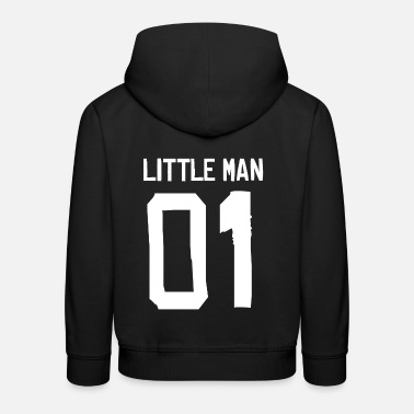 Little Man - Partner Shirt - Kinder Premium Hoodie