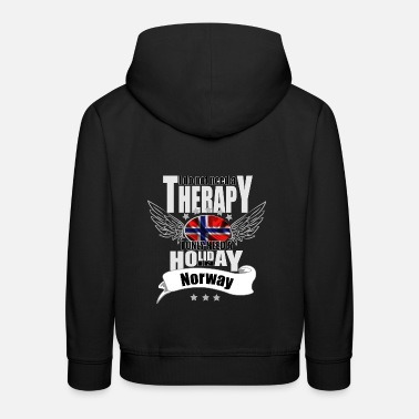 no therapy Norway - Kids' Premium Hoodie