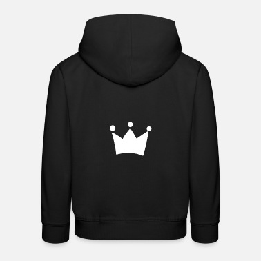 King Queen Crown King Queen - Pull à capuche Premium Enfant