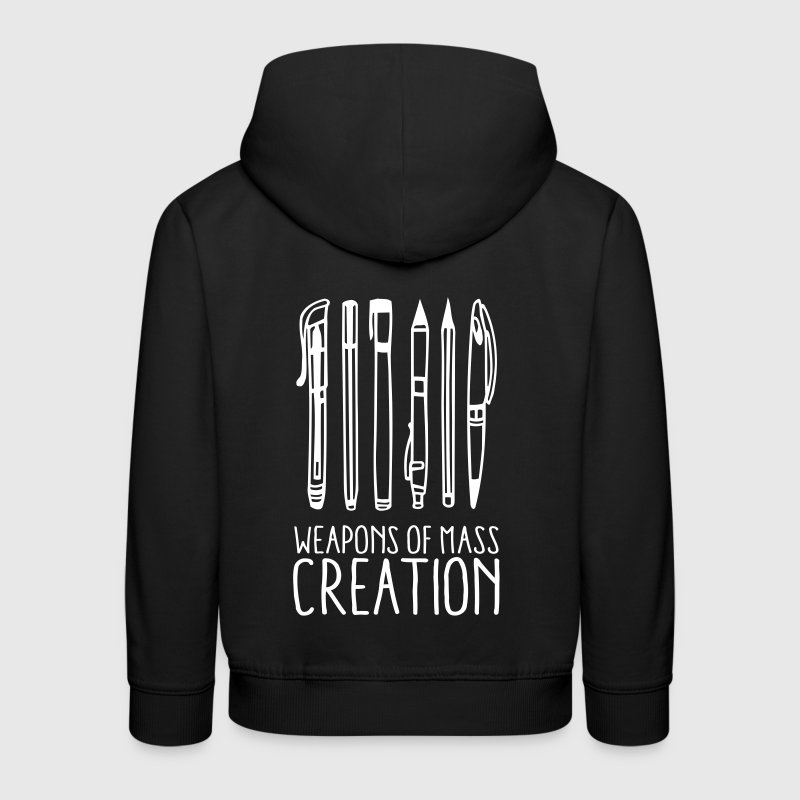 Weapons of mass creation (1c) - Kids' Premium Hoodie
