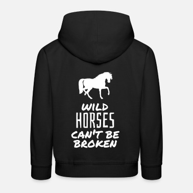 Horse Sayings Horse saying - Kids' Premium Hoodie