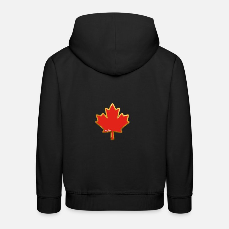 Canada Sweat-shirts - Canada - Sweat à capuche premium Enfant noir