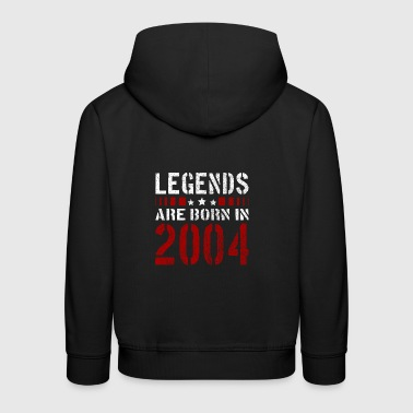 LEGENDS ARE BORN IN 2004 BIRTHDAY CHRISTMAS SHIRT - Kids' Premium Hoodie