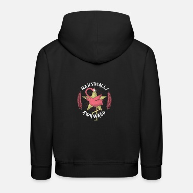 Embarrassing Majestic Embarrassing / FLAMINGO - Kids' Premium Hoodie