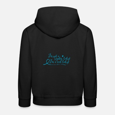 Baby not regular - cool baby - blau - Kinder Premium Hoodie