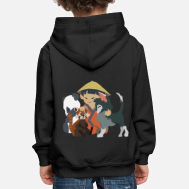Asian Little asian child - Kids' Premium Hoodie