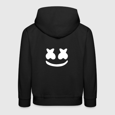 Smiley with marshmallow eyes - Kids' Premium Hoodie
