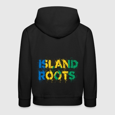 Saint Vincent and the Grenadines roots - Kids' Premium Hoodie