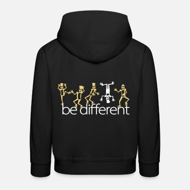 Citations be different (2c) - Pull à capuche Premium Enfant