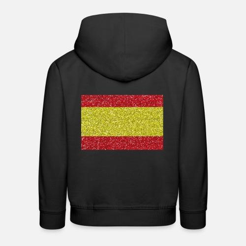 España bandera de la bandera brillo de la bandera española Sudadera ... c3ddb862ab89