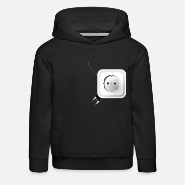 Outlet Electrical outlet - Kids' Premium Hoodie