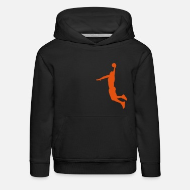 Dunk Basketball Player Slam Dunk - Kinder Premium Hoodie