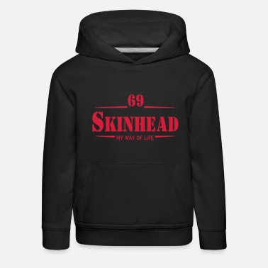 Working Class Skinhead Oi! Antiracist Bootboys My - Kids' Premium Hoodie