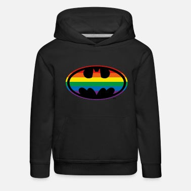 Ligue De Justice D'Amérique Batman arc-en-ciel - Sweat à capuche premium Enfant