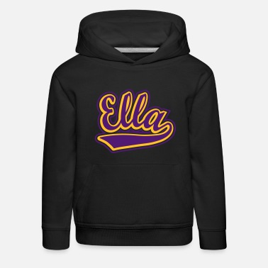 Personalise Ella - T-shirt Personalised with your name - Kids' Premium Hoodie