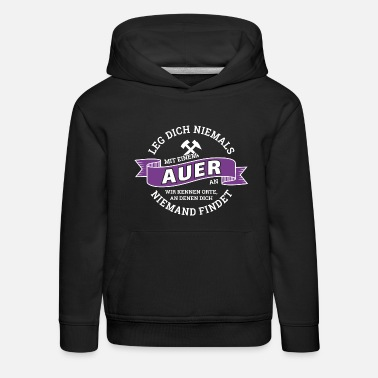 Aue City Aue Erzgebirge football Aue-shirt gift - Kids' Premium Hoodie
