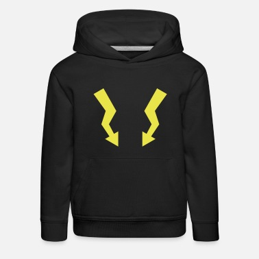 Internet Flashes - Lightning - Kinder Premium Hoodie