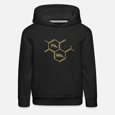 Shape chemical papa + mama - Sweat à capuche premium Enfant