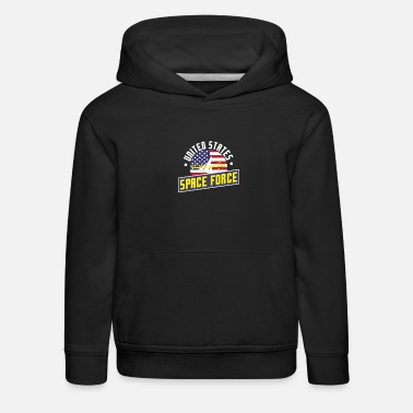 United States Space Force Make Space Great Again - Kids' Premium Hoodie