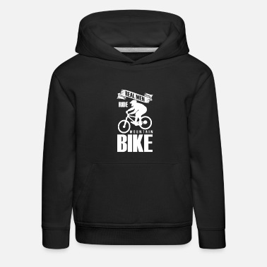 Dirt Mountain bike e-bike bicycle bike cycling business - Kids' Premium Hoodie