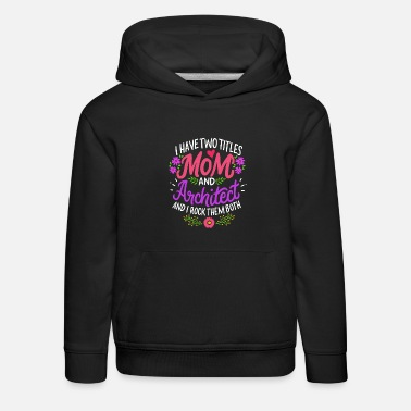 Architektin Mama Mutter - Kinder Premium Hoodie