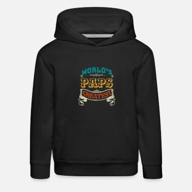 Bester Paps WORLDS GREATEST PAPS - Kinder Premium Hoodie