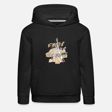 Souvenir PARIS - Sweat à capuche premium Enfant
